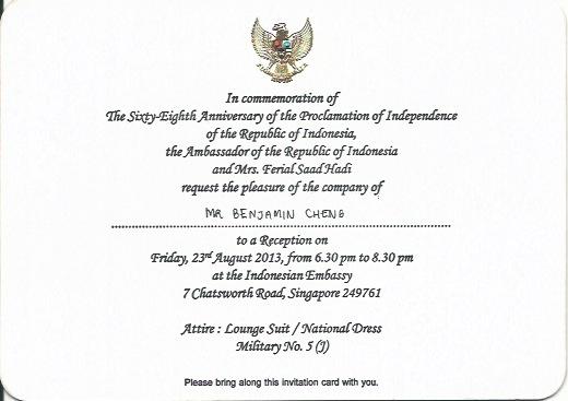 commemoration dinner